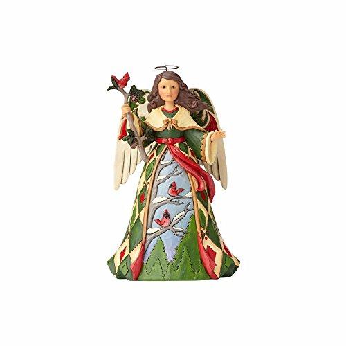 (Enesco Jim Shore Heartwood Creek Christmas Angel with Cardinals)