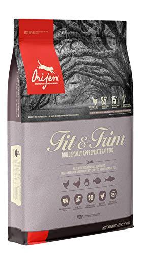 ORIJEN Dry Cat Food, Fit & Trim, Biologically Appropriate & Grain Free