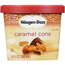 Haagen Dazs, Caramel Cone Ice Cream, 3.6 Oz. Cup (12 Count)