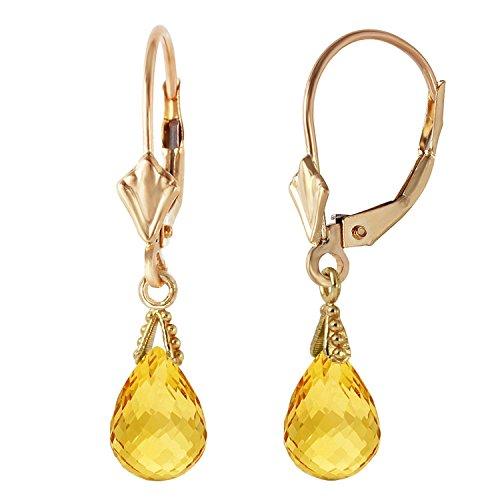 Citrine Briolette Earrings - 6