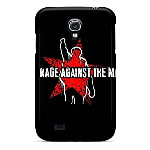 DannyLCHEUNG Samsung Galaxy S4 Shock Absorption Cell-phone Hard Cover Support Personal Customs Lifelike Rise Against Image [BOa17954RAhF]