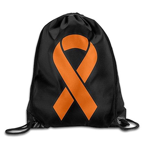 Leukemia Ribbons Drawstring Backpack Bag Beam Mouth Yoga Sackpack Rucksack Shoulder Bags For Men / Women from 05_&_NG