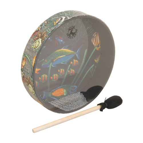 Remo OCEAN DRUM - 12'' x 2 1/2'' FISH by Remo