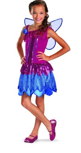 Disguise Dazzle Dolls Glitter Fairy Girls Costume, 4-6X