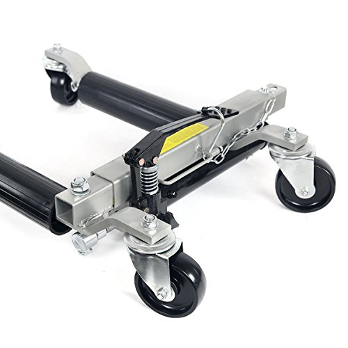 SKEMIDEX---2pc 1500lb HYDRAULIC Positioning Car Wheel Dolly Jack Lift hoists Moving Vehicle And moving dollies moving dolly lowes moving dolly rental walmart dolly hand truck costco hand truck by SKEMIDEX (Image #3)