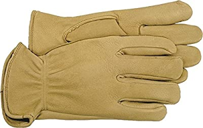 Boss 4085 Premium Grain Deerskin Work Gloves, Jumbo (Pack of 1 Pair)