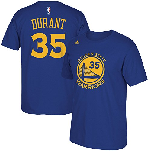 NBA Youth 8-20 Performance Game Time Team Color Player Name and Number Jersey T-Shirt (Medium 10/12, Kevin - Youth Durant Kevin Jersey Medium