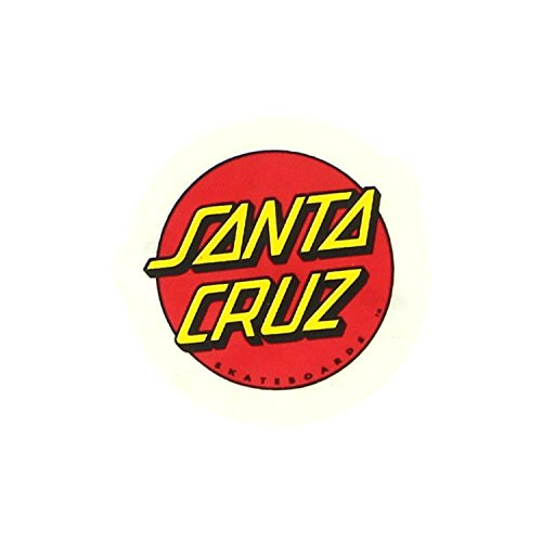 Santa Cruz Classic Dot 1″ Decal