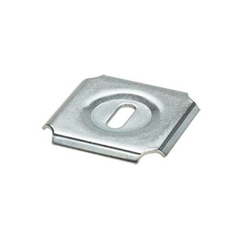 Hoffman QTPSSW3BLK Quick Tray Pro Splice Washer 8 Inch Depth 4 Inch 4 Inch Steel Black