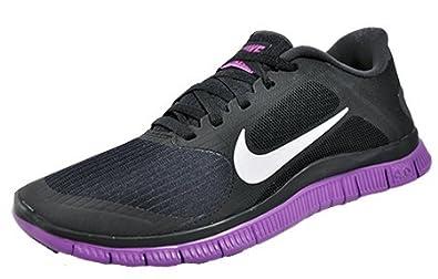 buy online b16a4 297d5 Nike Free 4.0 V3 SchwarzLilaWeiß Gr. 39