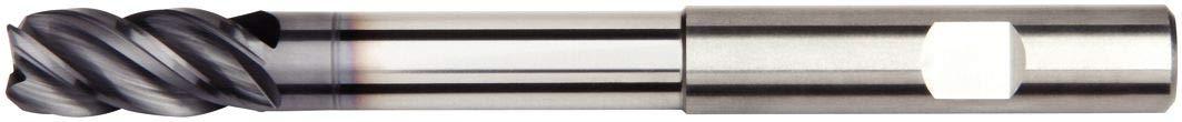 4-Flute TiAlN Coating Weldon Shank WIDIA Hanita 47N612005LW VariMill I 47N6 HP End Mill 12 mm Shank Diameter Carbide RH Cut 12 mm Cutting Diameter