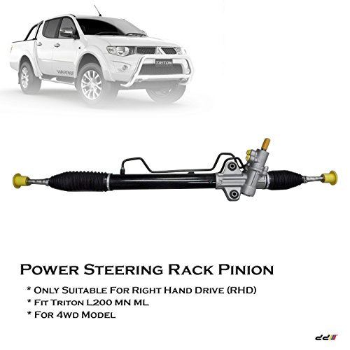 Mitsubishi Triton ML MN L200 4WD 06-12 RHD Power Steering Rack Pinion New