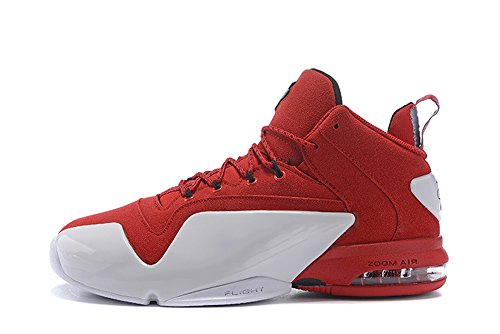 Mens Zoom Penny VI Basketball Shoes Hardaway Casual Sport Sneaker Red White (Penny Posite Red compare prices)