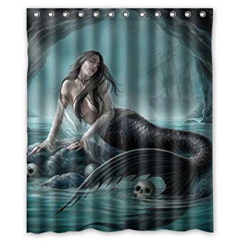 custom shower curtain 60 x 72 - 2