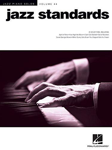 Jazz Sheet Vocal Music (Jazz Standards: Jazz Piano Solos Series Volume 44)