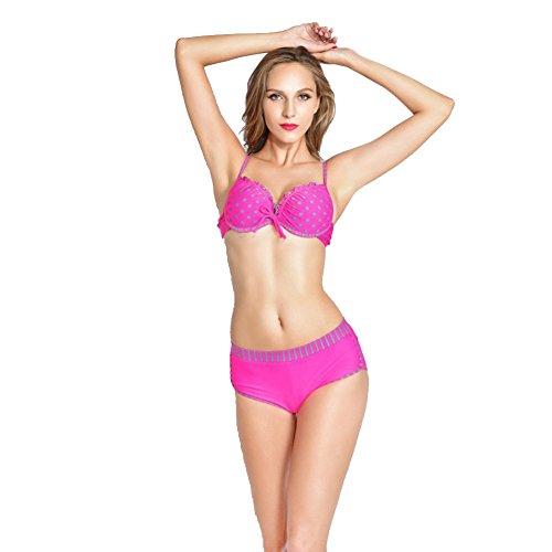 SW99078C1 Nylon Women's Bikini Swimsuit Size S