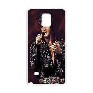 Samsung Galaxy Note 4 Cell Phone Case White Elvis Presley ndki