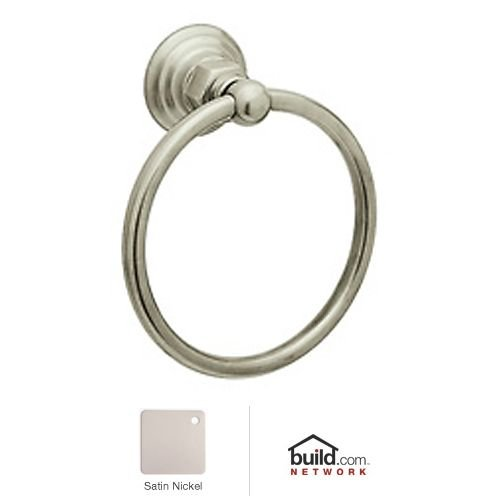 Rohl ROT4STN Country Bath Towel Ring in Satin Nickel - Country Towel Ring