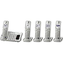 PANASONIC KX-TGE275S Dect 6.0 Link2cell Bluetooth Phone System (5-Handset System)