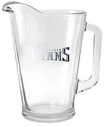 - Boelter Brands NFL Glass Pitcher, Transparent Glass
