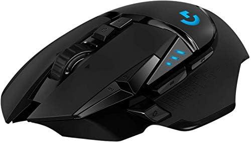 Amazon Com Logitech G502 Lightspeed Wireless Gaming Mouse Hero