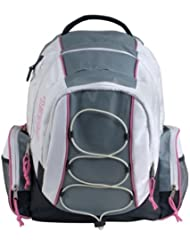 FUEL Outdoor and School Backpack (Pink/White)