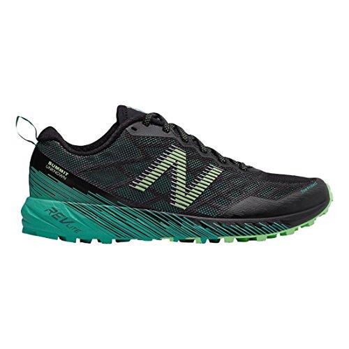 New Balance Mujeres Summit Desconocido Trail Running Shoe Verde / Negro