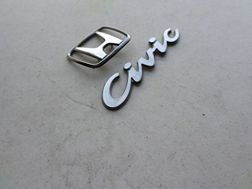 rear trunk honda emblem - 2