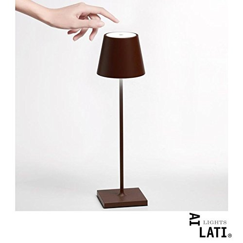 Lampade Da Ufficio A Led.Ai Lati Poldina Lampada Da Tavolo Led 2w 3000k Ricaricabile Ip54