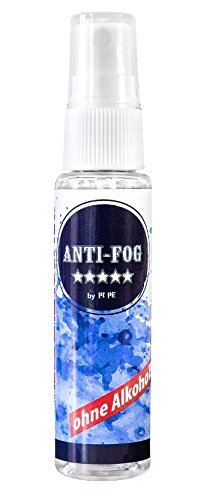 PI-PE Anti Fog Antibeschlag Spray, Transparent, 30ml