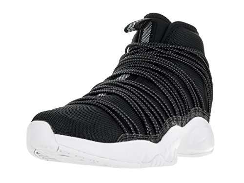 Cabo Sport Shoes (Nike Men's Zoom Cabos Black/Reflect Silver White Basketball Shoe 13 Men US)