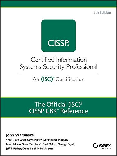 The Official (ISC)2 Guide to the CISSP CBK Reference by Wiley