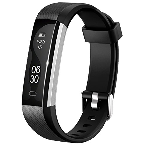 Fitness Tracker Watch - Lintelek IP67 Waterproof Activity Tracker with Step Counter Calorie Counter Sleep Monitor - Bluetooth Pedometer Wristband for iphone and Android Smartphone