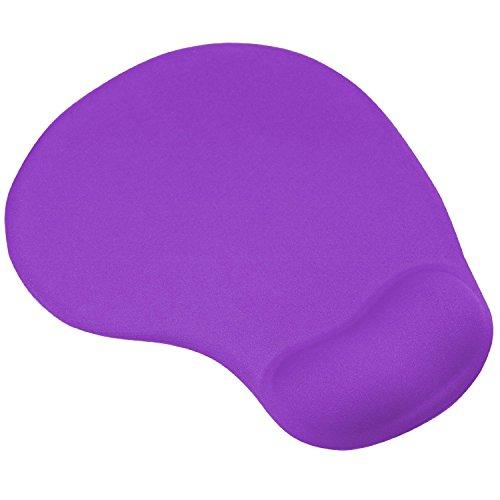 Vivoice Mouse Pad with Gel Wrist Support - Wrist Mousepad for Laptop Desktop Wrist Rest Non-slip Rubber Base