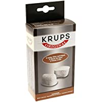KRUPS 8000000302 F47200 Duo Filters Water Filtration System for Coffee Makers Compatible with FMF/FME / 629/619 /180/176 / 466 and 467, 2-Pack