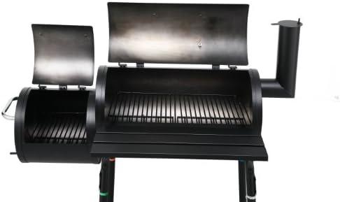 Tepro 1038 Wichita Barbecue à Charbon avec conteneur latéral
