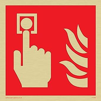 Viking signos fv343-s10-gv alarma de incendio llamada punto ...