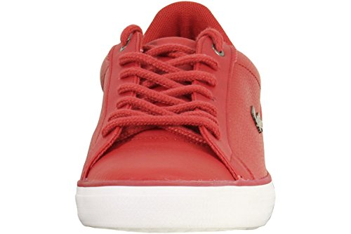 Lacoste Mens Lerond 317 4 Cam Rood / Wit