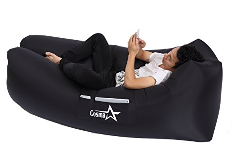 Inflatable lounger Couch Bed Sofa Air Bag Portable Waterproof Compression Sacks