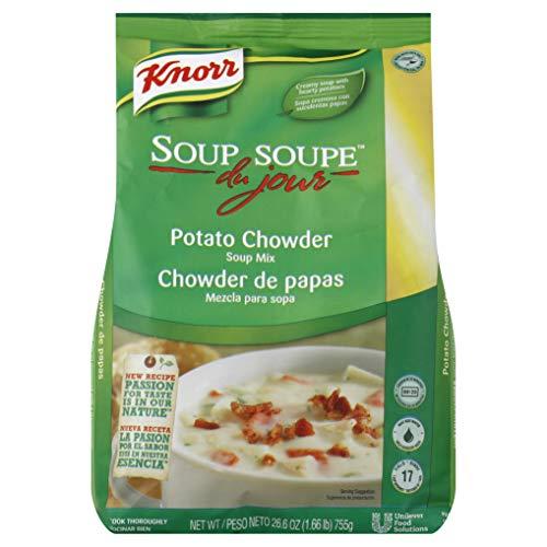 Knorr Soup du Jour Mix Potato Chowder 26.6 ounces 4 count by Knorr