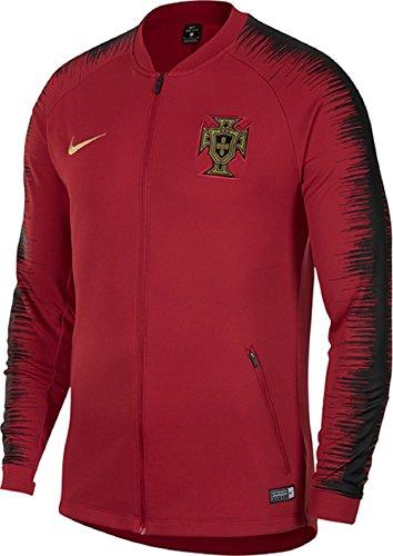 (2018 Nike Portugal Anthem Jacket (Gym Red/Black))