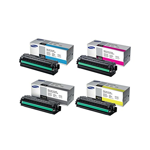 Samsung SL-C2620DW Standard Yield Toner Set BK 6000/Color 3500 Pages