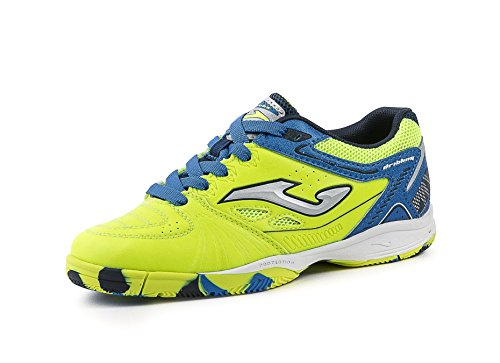 Joma calcetto dribling jr 611 lemon fluorroyal indoor