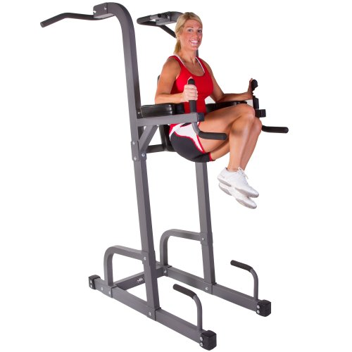 XMark Fitness Commercial 11-Gauge Power Tower with Pull-Up ...
