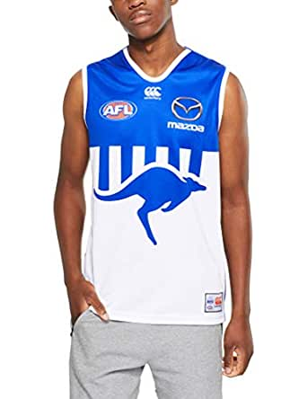 Canterbury Men's Nmfc Replica On Field Away Guernsey, White, S