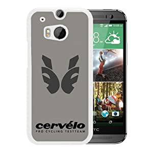 HTC ONE M8 Cervelo Canadian Cycling Pro Test Team Bicycle White Screen Phone Case Cool and Popular Design