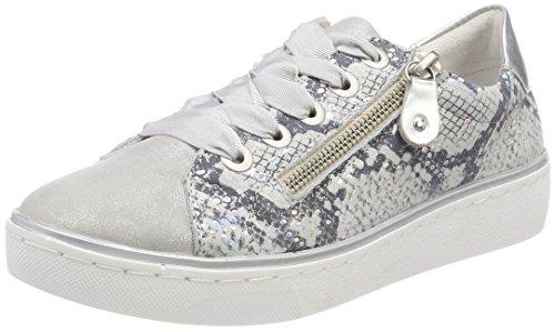 Basses 36 Sneakers 13 Argento EU Bleu Remonte Femme R5501 OSxF0E