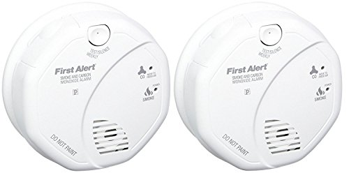 First Alert SCO5CN Combination Smoke and Carbon Monoxide Alarm, Battery Operated (.2 PACK)