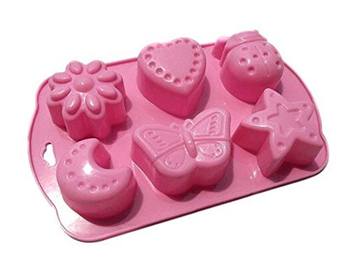 (Cake Molds - Heart Cake Molds Hole Silicone Baking Mold Bakeware - Edging Candy Statues From Face Instant Bites Letters Pops Chain Grill Lamb Easter Yellow Numbers Quick Rice Popsicles Pressure)