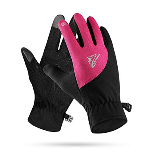 Unisex Racing Mountain Bike Bicycle Cycling Off-Road/Dirt Bike Gloves Road Racing Motorcycle Motocross Sports Gloves(Pink Small)